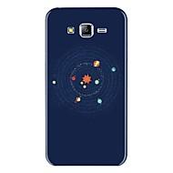 Недорогие Чехлы и кейсы для Galaxy J5-Кейс для Назначение SSamsung Galaxy J7 (2017) J7 (2016) С узором Кейс на заднюю панель Мультипликация Мягкий ТПУ для J7 (2017) J7 (2016)