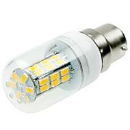 お買い得  LED コーン型電球-SENCART 1個 5W 800-1200lm E14 / G9 / B22 LEDコーン型電球 T 42 LEDビーズ SMD 5730 装飾用 温白色 / クールホワイト 220-240V / 12V