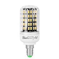 お買い得  LED コーン型電球-YouOKLight 1個 7W 560lm E14 LEDコーン型電球 108 LEDビーズ SMD 5733 装飾用 温白色 クールホワイト 110-130V