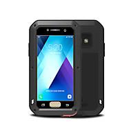 billige -Etui Til Samsung Galaxy A3(2017) Vann / støv / støtsikker Heldekkende etui Helfarge Hard Metall til A3 (2017)