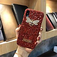 Недорогие Кейсы для iPhone 8-Кейс для Назначение Apple iPhone X iPhone 7 Plus С узором Кейс на заднюю панель Сияние и блеск Твердый ПК для iPhone X iPhone 8 Pluss