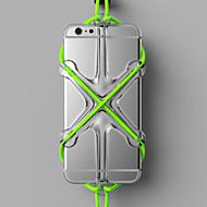 Недорогие Кейсы для iPhone 8-Кейс для Назначение Apple Универсальный Защита от удара Кейс на заднюю панель Сплошной цвет Твердый Силикон для iPhone X iPhone 8 Pluss