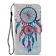 preiswerte Handyhüllen-Hülle Für Motorola Z2 play Kreditkartenfächer Geldbeutel mit Halterung Flipbare Hülle Magnetisch Ganzkörper-Gehäuse Traumfänger Hart