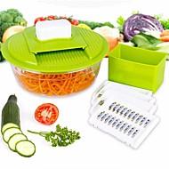 お買い得  キッチン用小物-プラスチック ステンレス鋼 クリエイティブキッチンガジェット 高品質 調理器具のための 野菜のための フルーツのための 多機能 果物&野菜ツール, 1個