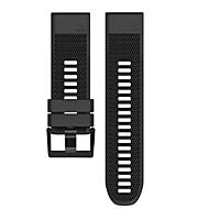 Недорогие Аксессуары для смарт-часов-Ремешок для часов для Fenix 5x Garmin Спортивный ремешок силиконовый Повязка на запястье