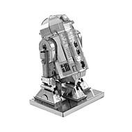 billige Legetøj og hobbyartikler-3D-puslespil Metalpuslespil Kreativ Focus Toy Håndlavet Metal Militær Stående Stil Legetøj Pige Drenge Gave