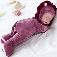cheap Toy & Game-Plush Doll Baby 14 inch Silicone Vinyl - Singing Child Safe Non Toxic Sleep Play Lullaby With 3 Choices of Songs Kid's Girls' Toy Gift / Floppy Head / Natural Skin Tone