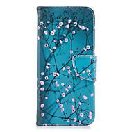 Недорогие Чехлы и кейсы для Galaxy S9 Plus-Кейс для Назначение SSamsung Galaxy S9 S9 Plus Бумажник для карт Кошелек со стендом Флип С узором Чехол Цветы Твердый Кожа PU для S9 Plus