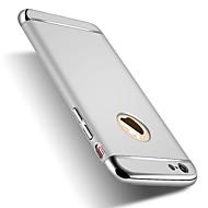 Недорогие Кейсы для iPhone 8-Кейс для Назначение Apple iPhone X iPhone 8 Защита от удара Покрытие Кейс на заднюю панель Сплошной цвет Твердый ПК для iPhone X iPhone 8