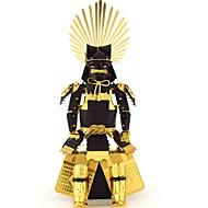 お買い得  おもちゃ & ホビーアクセサリー-3Dパズル メタルパズル 人物 戦士 フォーカス玩具 手作り メタリック 1pcs スタンディング 子供用 成人 女の子 ギフト