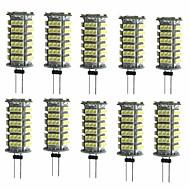 10pcs 2W 200 lm G4 LED Bi-pin Lights T 1 leds SMD 3528 Decorative Warm White Cold White DC 12V