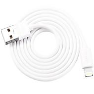 お買い得  iPhone 用ケーブル/アダプター-ライト ハイスピード / クイックチャージ ケーブル iPhone のために 100 cm 用途 PVC