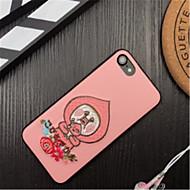 Недорогие Кейсы для iPhone 8 Plus-Кейс для Назначение Apple iPhone X iPhone 7 Plus С узором Кейс на заднюю панель Мультипликация Мягкий текстильный для iPhone X iPhone 8