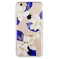Недорогие Кейсы для iPhone 8-Кейс для Назначение Apple iPhone 8 / iPhone 7 С узором Кейс на заднюю панель Цветы Мягкий ТПУ для iPhone 8 Pluss / iPhone 8 / iPhone 7 Plus