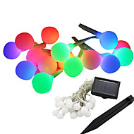 preiswerte LED Solarleuchten-Leuchtgirlanden LEDs LED Wiederaufladbar / Wasserfest / Dekorativ 1pc