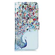 Недорогие Чехлы и кейсы для Galaxy S7 Edge-Кейс для Назначение SSamsung Galaxy S8 Plus S8 Бумажник для карт Кошелек со стендом Флип С узором Чехол Животное Твердый Кожа PU для S8