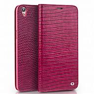 お買い得  携帯電話ケース-ケース 用途 OPPO R9s Plus R9s カードホルダー ウォレット 耐衝撃 フリップ フルボディーケース 純色 ハード 本革 のために OPPO R9 Plus