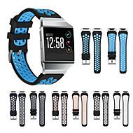 Недорогие Аксессуары для смарт-часов-Ремешок для часов для Fitbit ionic Samsung Galaxy Спортивный ремешок силиконовый Повязка на запястье