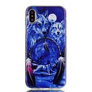 Недорогие Кейсы для iPhone 8-Кейс для Назначение Apple iPhone X iPhone 8 С узором Кейс на заднюю панель Животное Мягкий ТПУ для iPhone X iPhone 8 Pluss iPhone 8