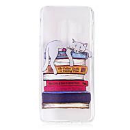 Недорогие Чехлы и кейсы для Galaxy S9-Кейс для Назначение SSamsung Galaxy S9 S9 Plus Прозрачный С узором Кейс на заднюю панель Кот Мягкий ТПУ для S9 Plus S9 S8 Plus S8 S7 edge