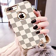 abordables Estuches Cool & Fashion para iPhone-Funda Para Apple iPhone X / iPhone 7 Plus Diseños Funda Trasera Diseño Geométrico Suave Silicona para iPhone X / iPhone 8 Plus / iPhone 8