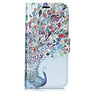 Недорогие Кейсы для iPhone 8-Кейс для Назначение Apple iPhone X iPhone 8 Plus Бумажник для карт Кошелек со стендом Флип С узором Чехол Животное Твердый Кожа PU для