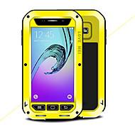 Недорогие Чехлы и кейсы для Galaxy A3(2016)-Кейс для Назначение SSamsung Galaxy A3(2016) Вода / Грязь / Надежная защита от повреждений Чехол Сплошной цвет Твердый Металл для