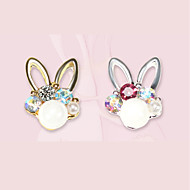 5 Nail Jewelry Boutique Fashionable Jewelry Cute Glow Rhinestone Style Cartoon Design Dailywear Nail Art Design