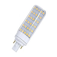 Χαμηλού Κόστους Φωτιστικά LED δυο ακίδων-SENCART 1pc 5.5W 580-650lm lm G24 LED Φώτα με 2 pin T 30pcs leds SMD 5050 Διακοσμητικό Θερμό Λευκό Άσπρο 12V 85-265V