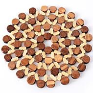 abordables Salvamanteles-Clásico El plastico / arylic Redondo Juego de Mesa Un Color Decoraciones de mesa 1 pcs