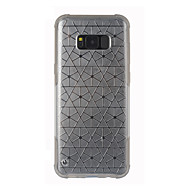 Недорогие Чехлы и кейсы для Galaxy S-Кейс для Назначение SSamsung Galaxy S8 Plus S8 С узором Кейс на заднюю панель Геометрический рисунок Твердый ПК для S8 Plus S8