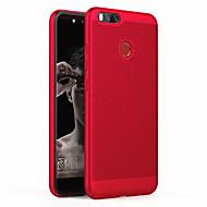 お買い得  携帯電話ケース-ケース 用途 Xiaomi Mi 5X つや消し バックカバー ソリッド ハード PC のために Xiaomi Mi 5X Xiaomi A1