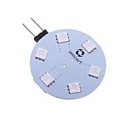 billiga -SENCART 1st 5 W LED-lampor med G-sockel 200-250 lm G4 T 9 LED-pärlor SMD 5050 Dekorativ Ändring 12 V / RoHs