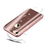 Недорогие Кейсы для iPhone 8-Кейс для Назначение Apple iPhone 8 iPhone 8 Plus Защита от удара Покрытие Кейс на заднюю панель Однотонный Твердый Алюминий для iPhone 8