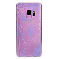 Недорогие Чехлы и кейсы для Galaxy S7-Кейс для Назначение SSamsung Galaxy S9 Plus / S9 С узором Кейс на заднюю панель одуванчик Мягкий ТПУ для S9 / S9 Plus / S8 Plus