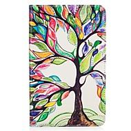 preiswerte Tablet Zubehör-Hülle Für Amazon Kindle Fire 7(5th Generation, 2015 Release) Kreditkartenfächer Geldbeutel mit Halterung Muster Ganzkörper-Gehäuse Baum