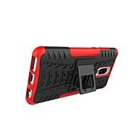 お買い得  携帯電話ケース-ケース 用途 Huawei Mate 10 lite / Mate 9 Pro 耐衝撃 / スタンド付き / 鎧 バックカバー タイル柄 / 鎧 ハード PC のために Mate 10 lite / Huawei Mate 8 / Mate 9