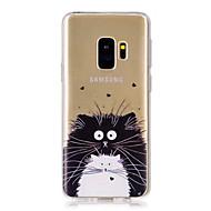 Недорогие Чехлы и кейсы для Galaxy S8 Plus-Кейс для Назначение SSamsung Galaxy S9 S9 Plus С узором Кейс на заднюю панель Кот Мягкий ТПУ для S9 Plus S9 S8 Plus S8 S7 edge