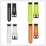 Недорогие Аксессуары для смарт-часов-Ремешок для часов для Fenix 3 HR Fenix 3 Garmin Спортивный ремешок силиконовый Повязка на запястье