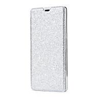 Недорогие Чехлы и кейсы для Galaxy Note 8-Кейс для Назначение SSamsung Galaxy Note 8 Бумажник для карт Флип Чехол Сияние и блеск Твердый Кожа PU для Note 8