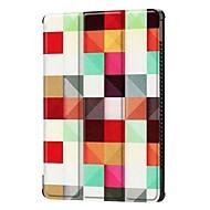Кейс для Назначение Huawei MediaPad MediaPad M5 10 со стендом Чехол Слова / выражения / Животное / Эйфелева башня Твердый Кожа PU для MediaPad M5 10