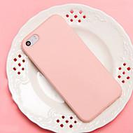 baratos -Capinha Para Apple iPhone 7 / iPhone 6 / Capinha iPhone 5 Antichoque Capa traseira Sólido Macia TPU para iPhone 7 Plus / iPhone 7 / iPhone 6s Plus