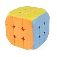 お買い得  -ルービックキューブ 1 PCSの Shengshou D0923 レインボーキューブ 3*3*3 スムーズなスピードキューブ マジックキューブ パズルキューブ グロス ファッション ギフト 男女兼用