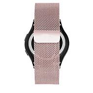Недорогие Аксессуары для смарт-часов-Ремешок для часов для Gear Sport Samsung Galaxy Миланский ремешок Нержавеющая сталь Повязка на запястье
