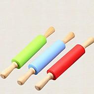 お買い得  キッチン用小物-キッチンツール シリコーン / ウッド エコ / ツール めん棒 調理器具のための 1個