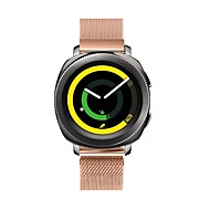 Недорогие Часы для Samsung-Ремешок для часов для Gear S2 Classic Samsung Galaxy Современная застежка Металл Повязка на запястье