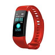 Y5 Unisexe Montre Connectée Android iOS Bluetooth Moniteur de Fréquence Cardiaque Calories brulées Enregistrement de l'activité Information Chronomètre Podomètre Rappel d'Appel Moniteur de Sommeil