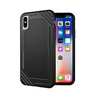 Недорогие Кейсы для iPhone 8-Кейс для Назначение Apple iPhone X / iPhone 8 Защита от удара Кейс на заднюю панель броня Мягкий ТПУ для iPhone X / iPhone 8 Pluss / iPhone 8