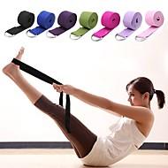 abordables Ejercicio y Fitness-Correa de yoga Con Textil Elástico, Duradero, Cinto D-Ring ajustable Terapia física, Extensión, Mejore la flexibilidad por Unisex Yoga / Pilates / Ejercicio y Fitness