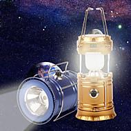 お買い得  フラッシュライト/ランタン/ライト-ランタン&テントライト LED 1 USBケーブル付き パータブル ゴールド キャンプ / ハイキング / ケイビング